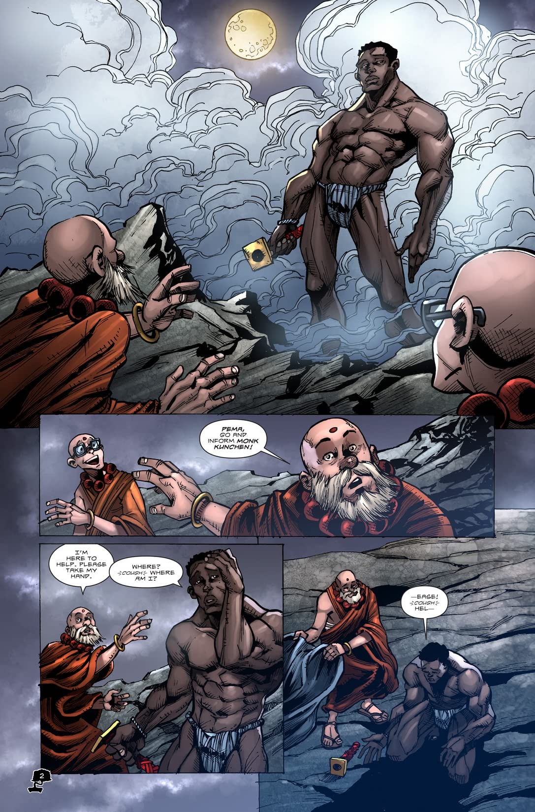Atonement of a Monk #1