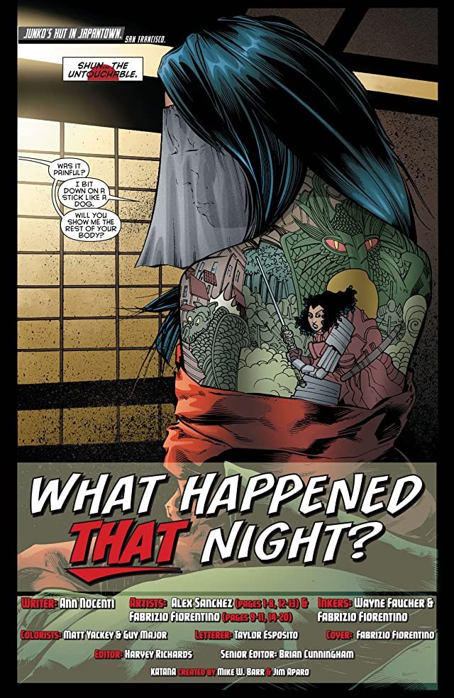 click for super-sized previews of Katana (2013) #7