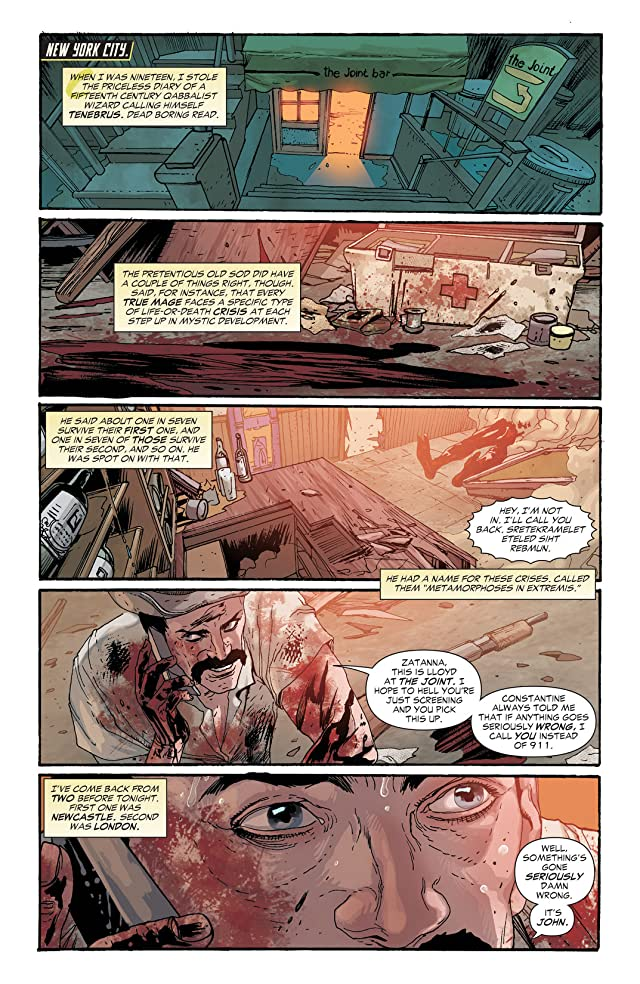 click for super-sized previews of Constantine (2013-2015) #6
