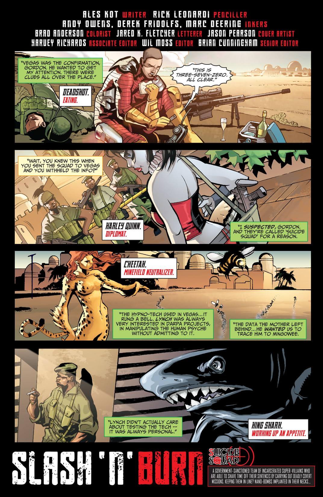 Suicide Squad (2011-2014) #23