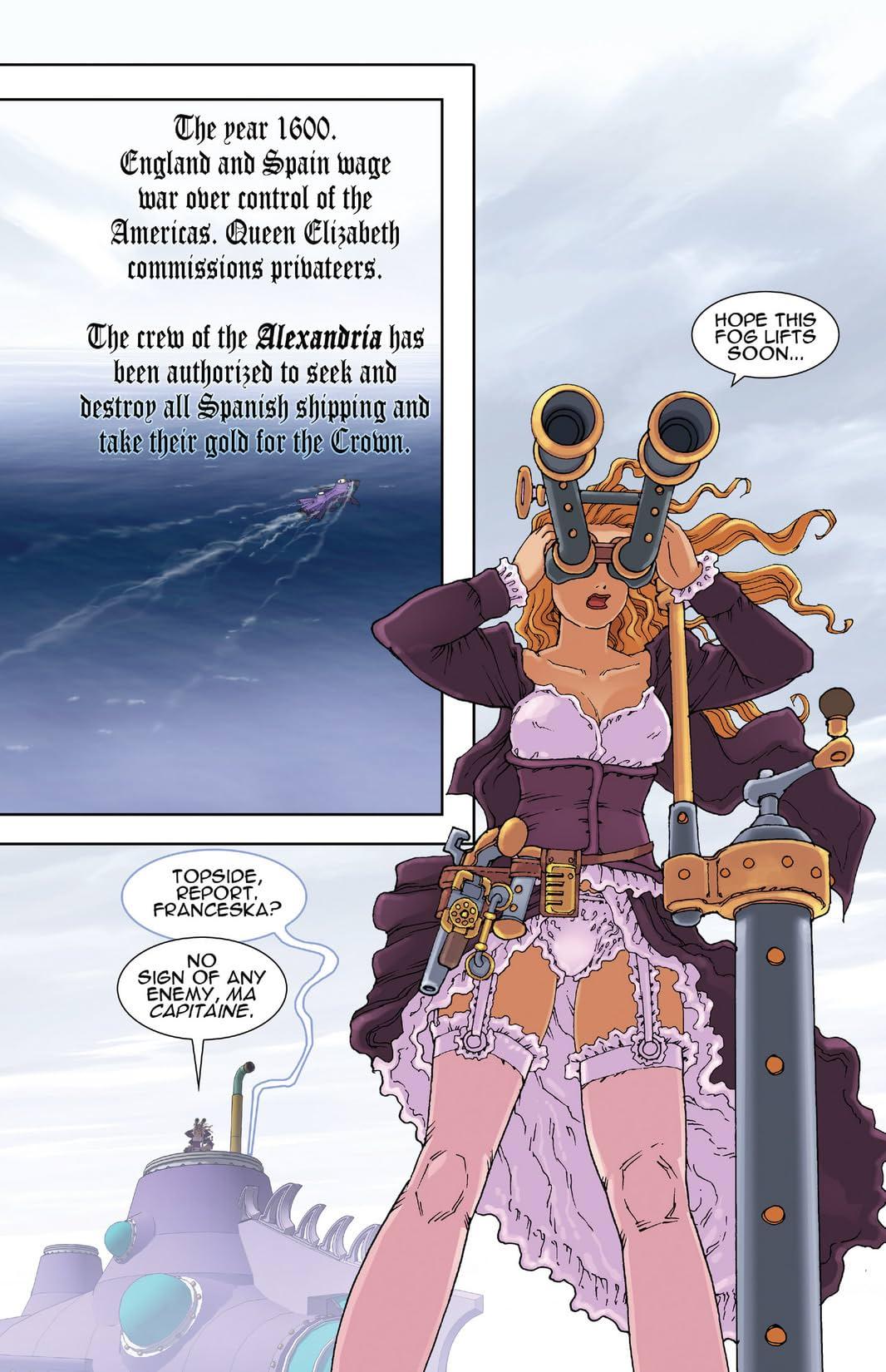 Steampunk Corsairs #1