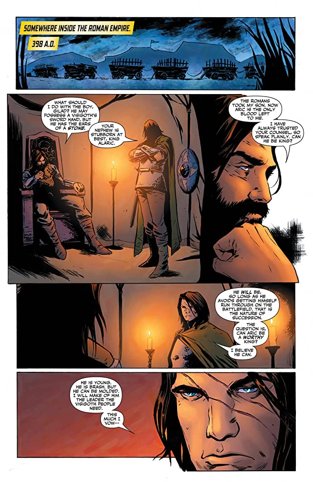 click for super-sized previews of X-O Manowar (2012- ) #16: Digital Exclusives Edition