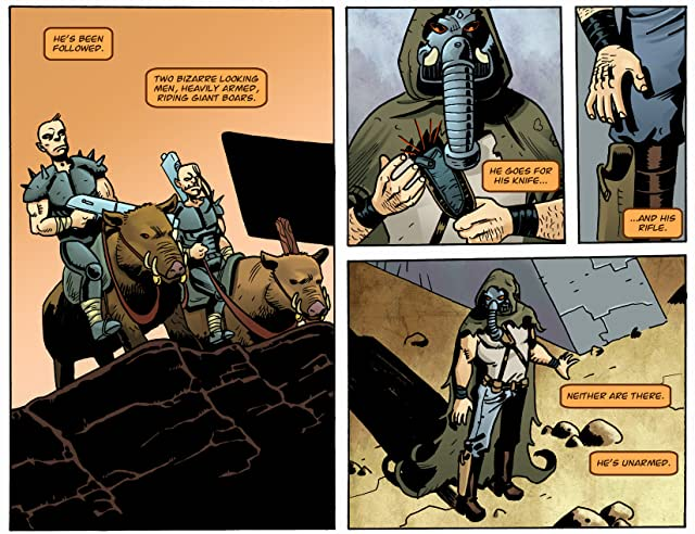 click for super-sized previews of Fighting Stranger: Chapter One