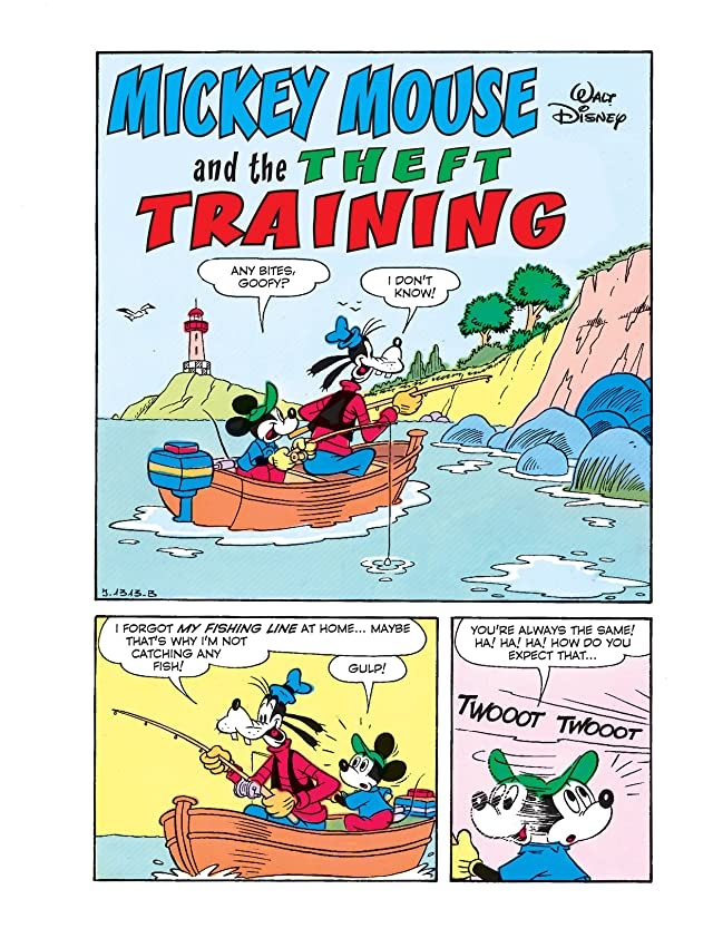click for super-sized previews of Mickey Mouse and the Theft Training