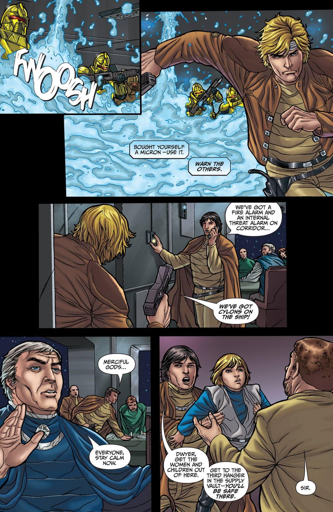 Classic Battlestar Galactica #5