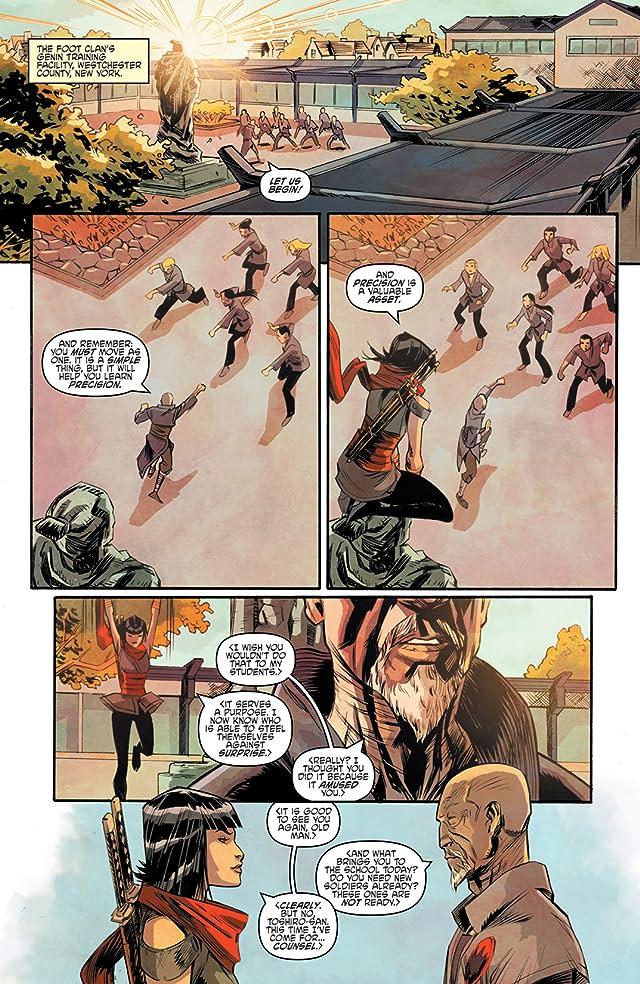 click for super-sized previews of Teenage Mutant Ninja Turtles: Villains Micro-Series #5: Karai