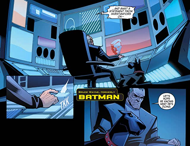 click for super-sized previews of Batman Beyond 2.0 (2013-2014) #2