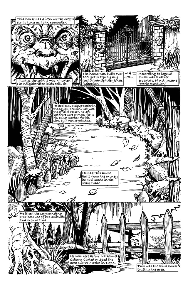 click for super-sized previews of The Journals of Rohauser #2