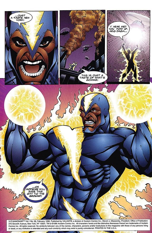 X-O Manowar (1992-1996) #58