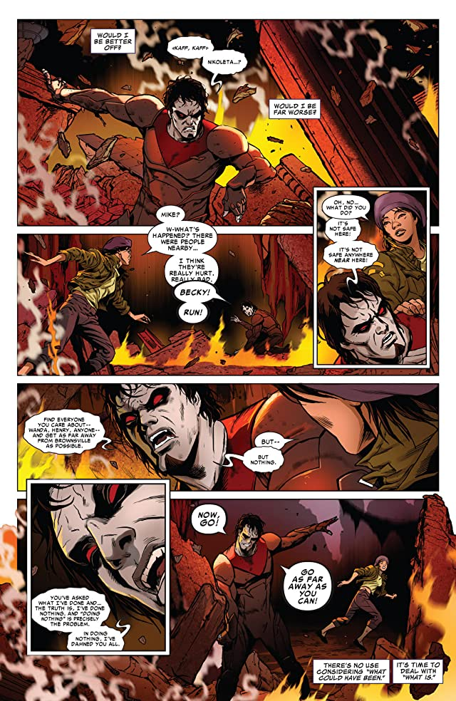 click for super-sized previews of Morbius: The Living Vampire #8