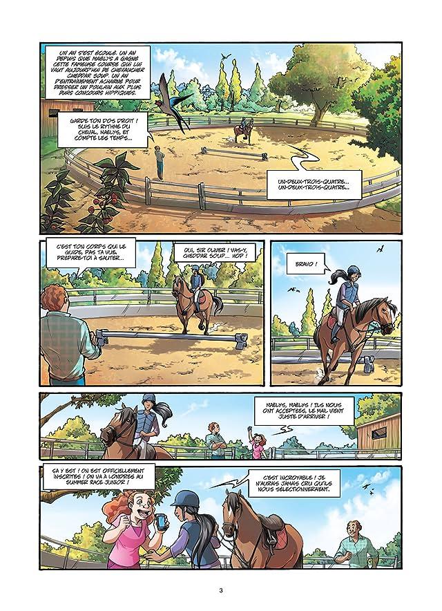click for super-sized previews of Galope comme le vent Vol. 2: Un choix difficile