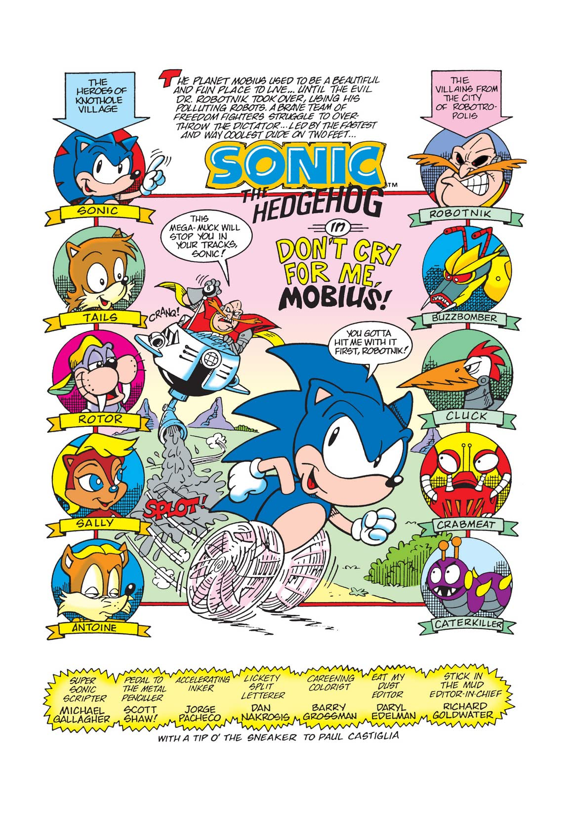 Sonic the Hedgehog Mini Series #0