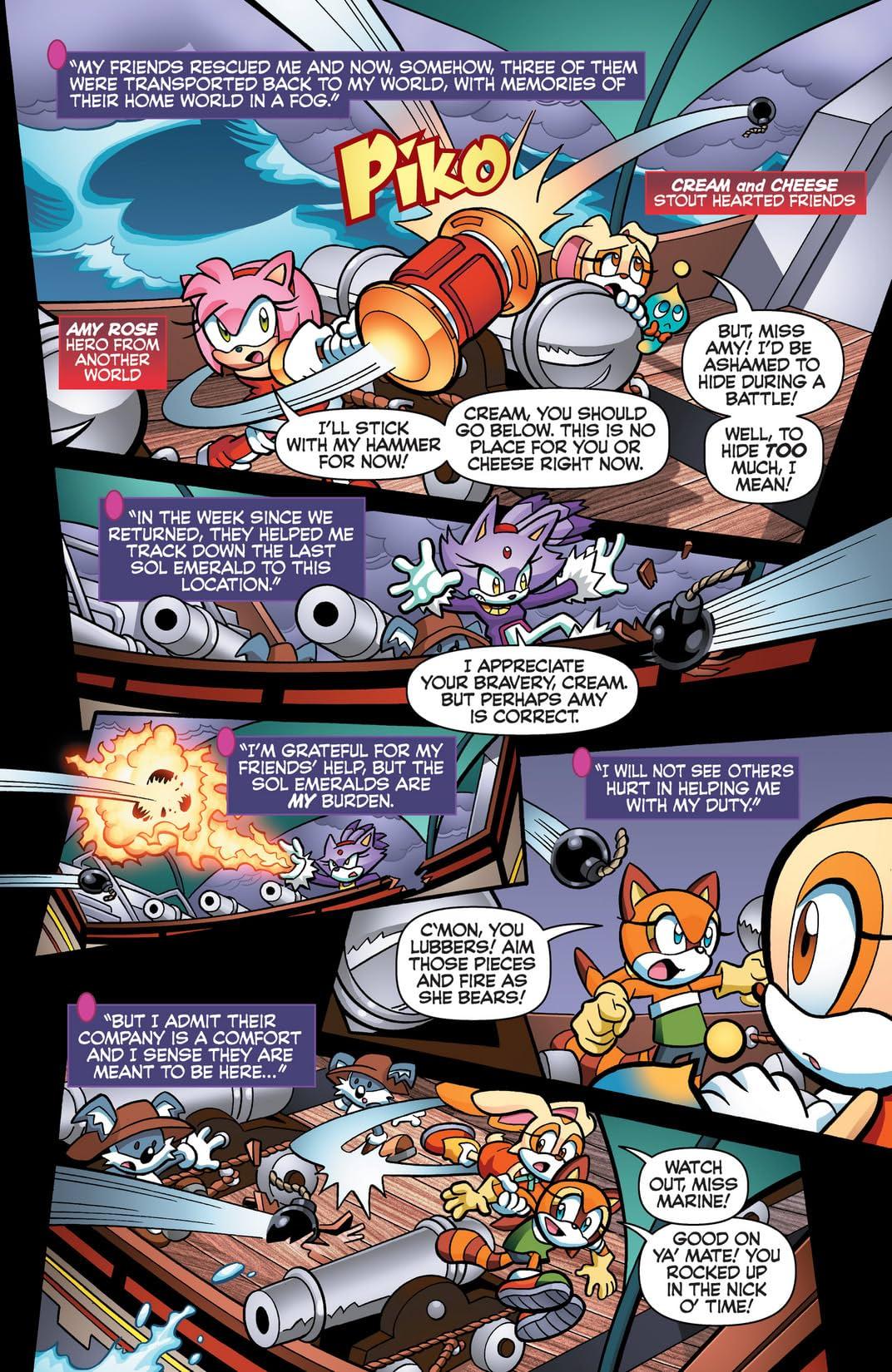 Off Panels: Sonic Universe 55-58 Roughs vs Final by chibi-jen-hen ...