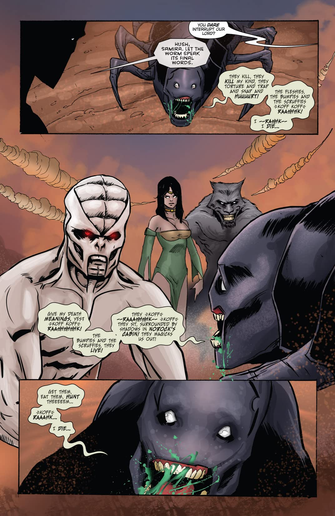 Unleashed: Hunters the Shadowlands #4 (of 5)