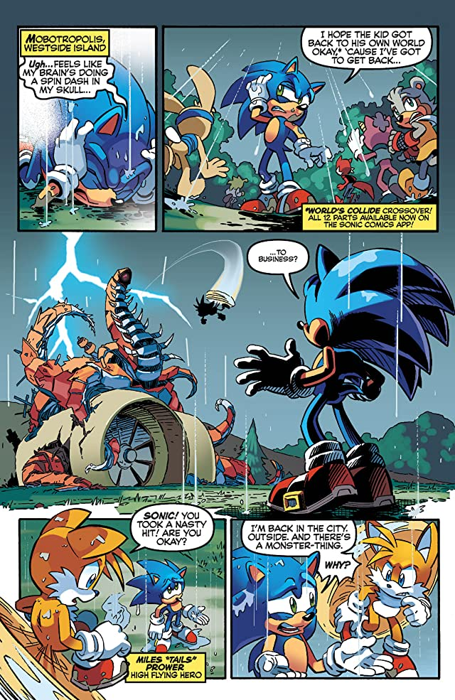 click for super-sized previews of Sonic the Hedgehog #252