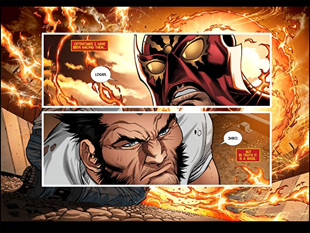 click for super-sized previews of Wolverine: Japan's Most Wanted Infinite Comic #7