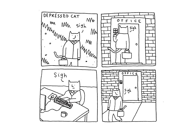 click for super-sized previews of Depressed Cat