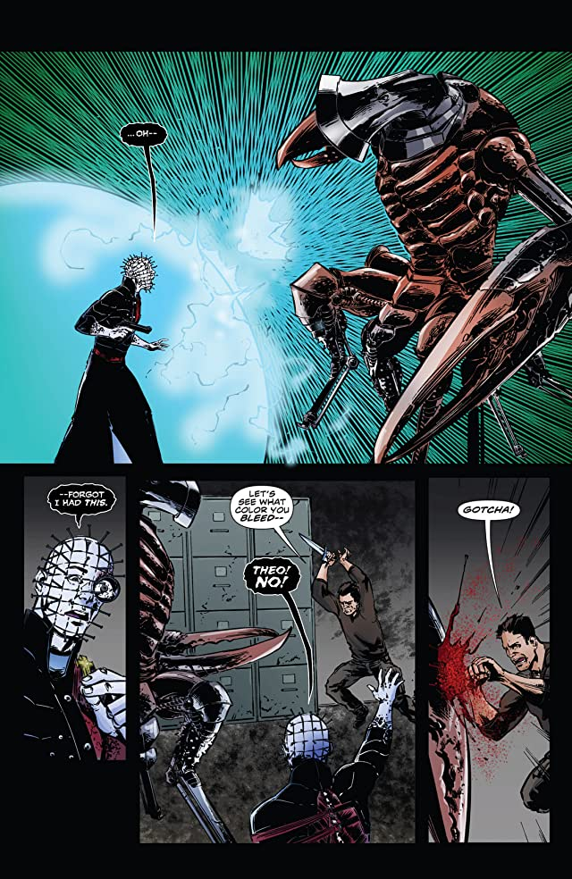 click for super-sized previews of Hellraiser: The Dark Watch #7