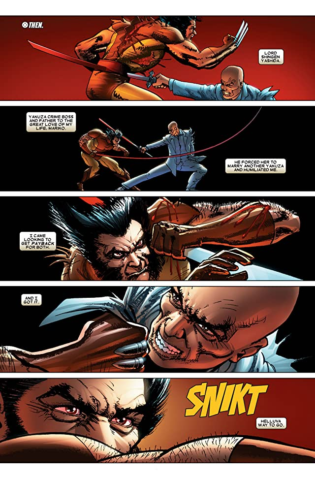 click for super-sized previews of Wolverine (2003-2009) #61