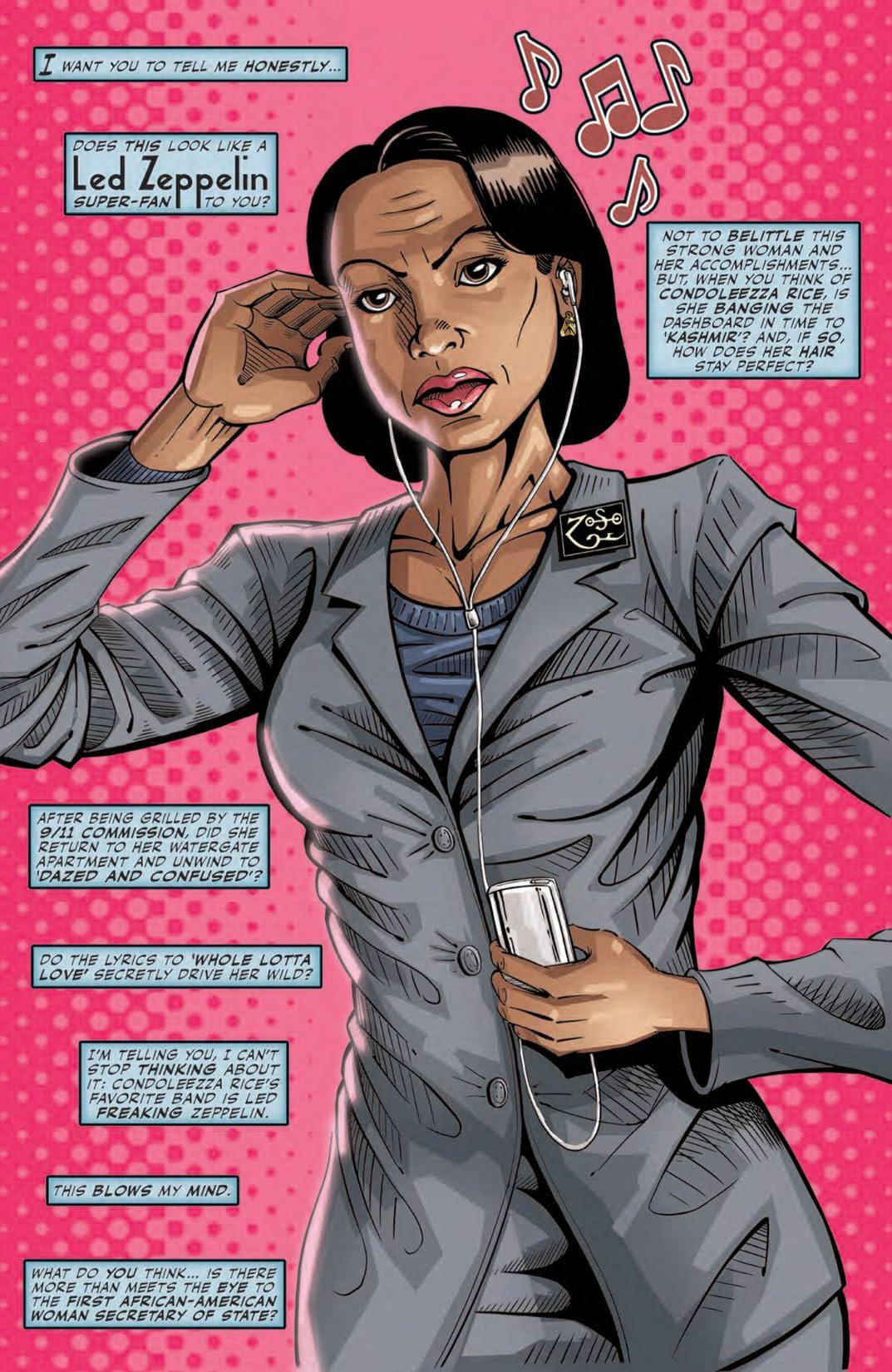 Female Force: Condoleezza Rice