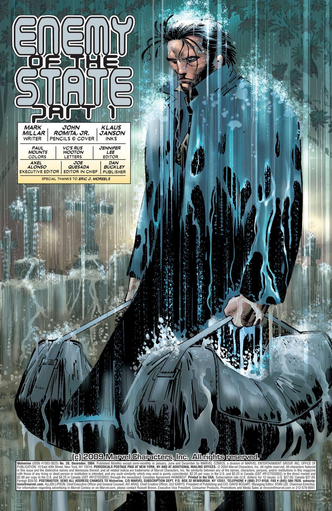 Wolverine (2003-2009) #20
