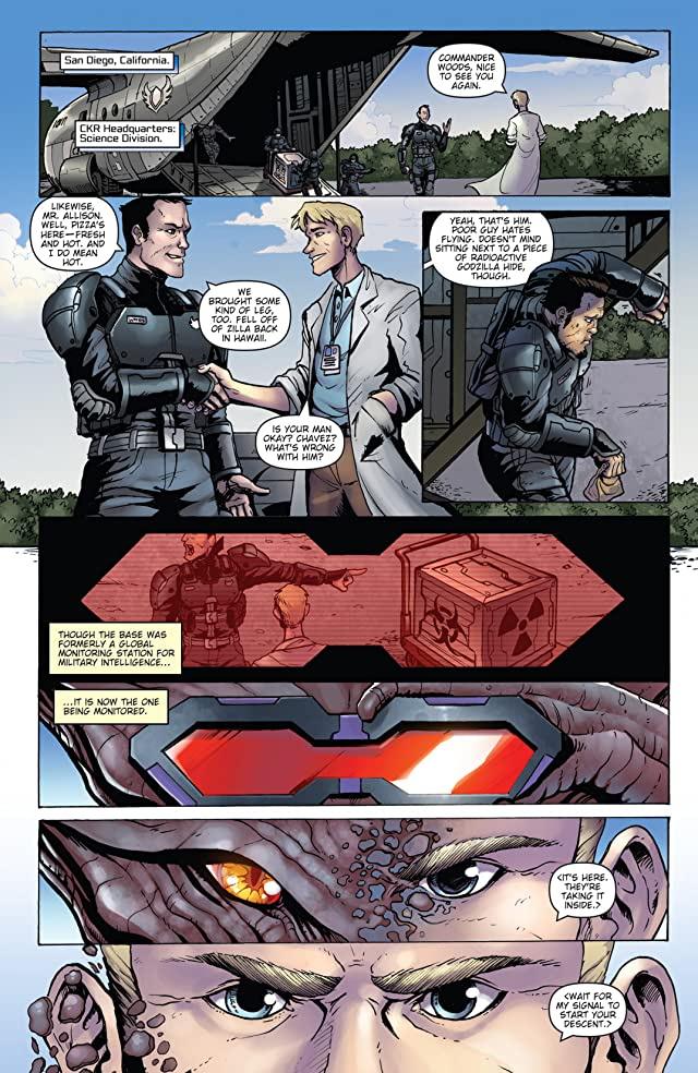 click for super-sized previews of Godzilla: Rulers of Earth #3