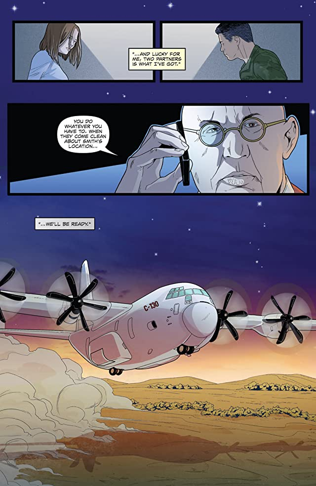 click for super-sized previews of Jericho: Season 4 #4