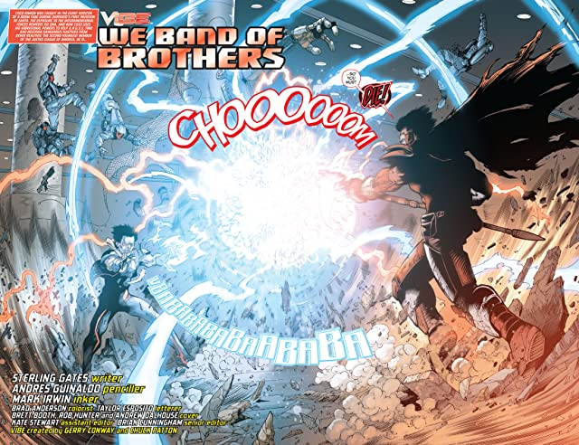 click for super-sized previews of Justice League of America's Vibe (2013) #7
