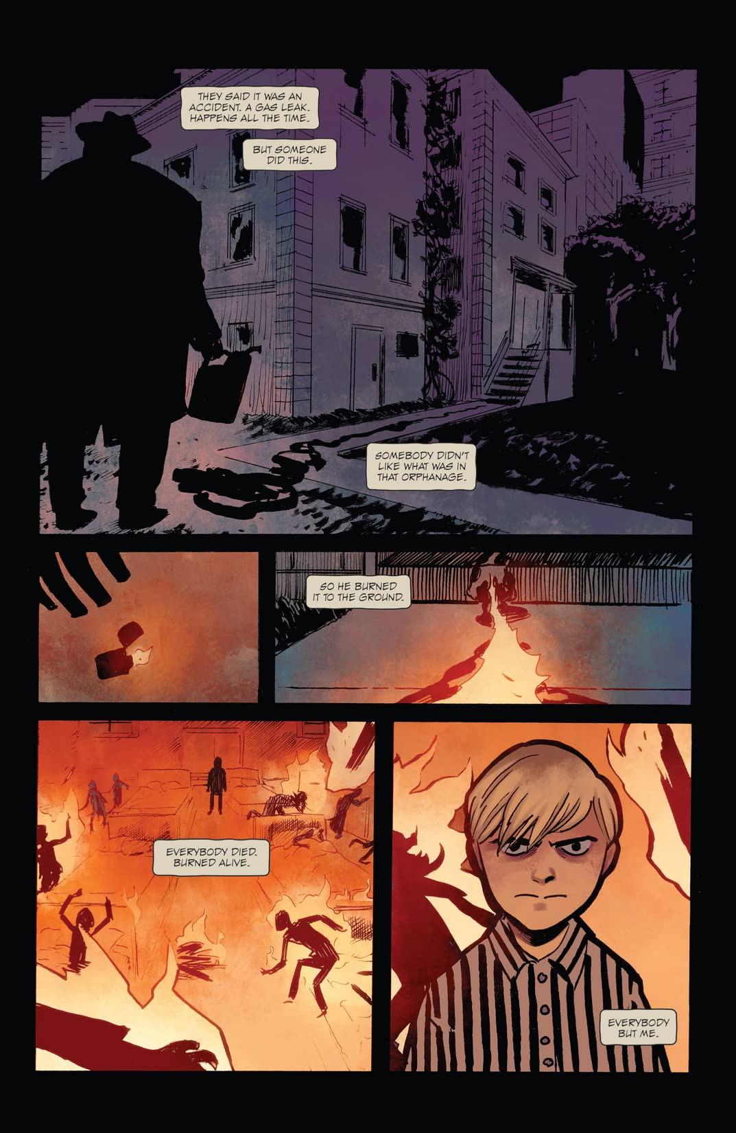 Burn the Orphanage: Born To Lose #1 (of 3)