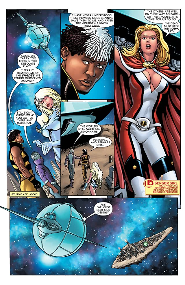 click for super-sized previews of Legion of Super-Heroes (2011-2013) #23