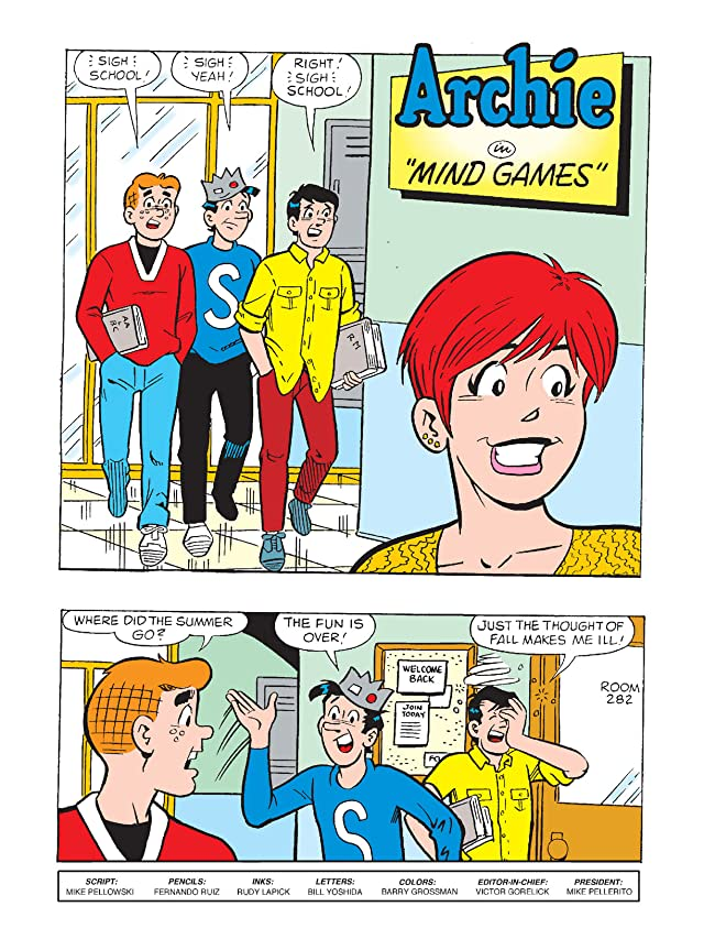 click for super-sized previews of World of Archie Double Digest #31