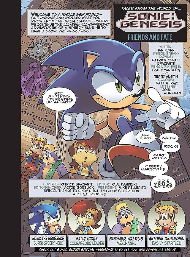 Sonic Super Digest #4