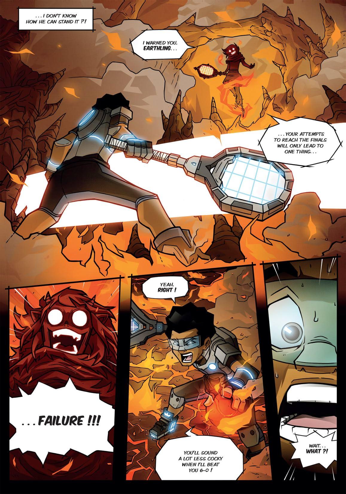 Turboten #1: The Volcano Ace