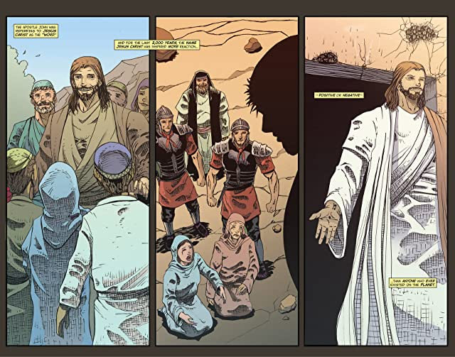 click for super-sized previews of Faith Series: Jesus Christ #1
