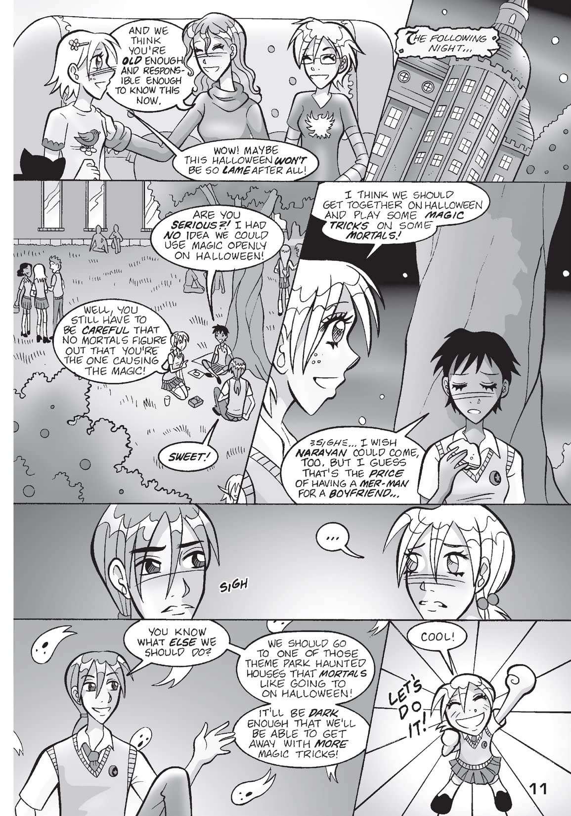 Sabrina Manga: The Magic Within Vol. 3