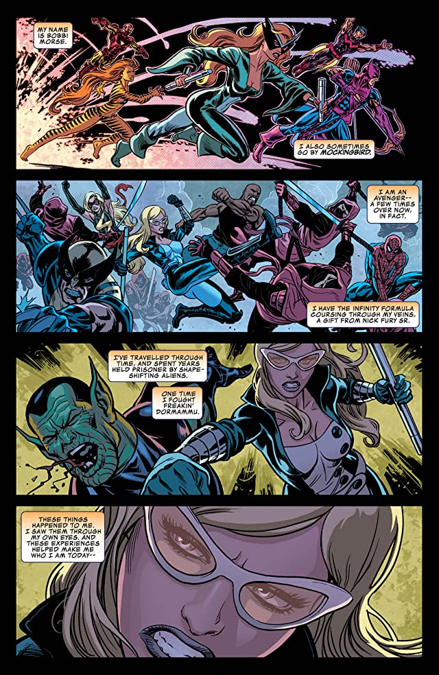 click for super-sized previews of Secret Avengers (2013-2014) #8