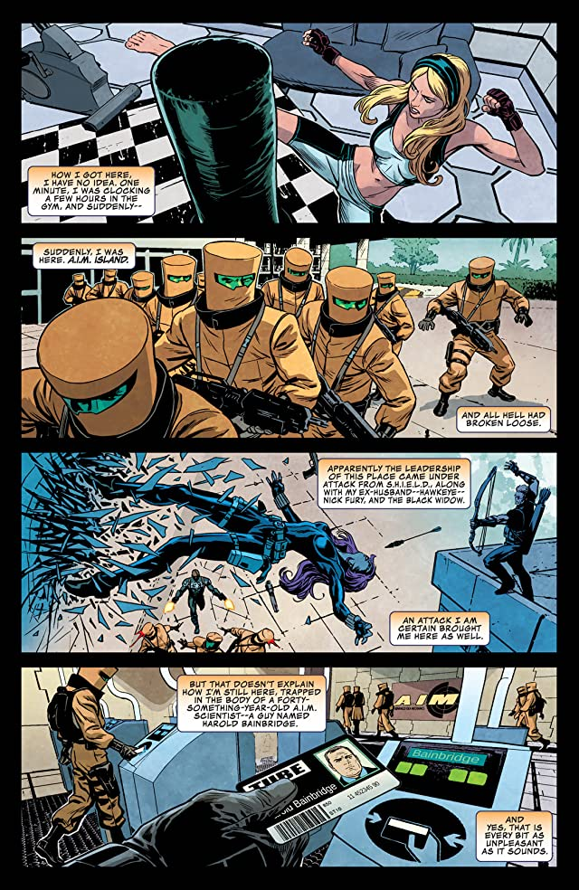 click for super-sized previews of Secret Avengers (2013-2014) #8