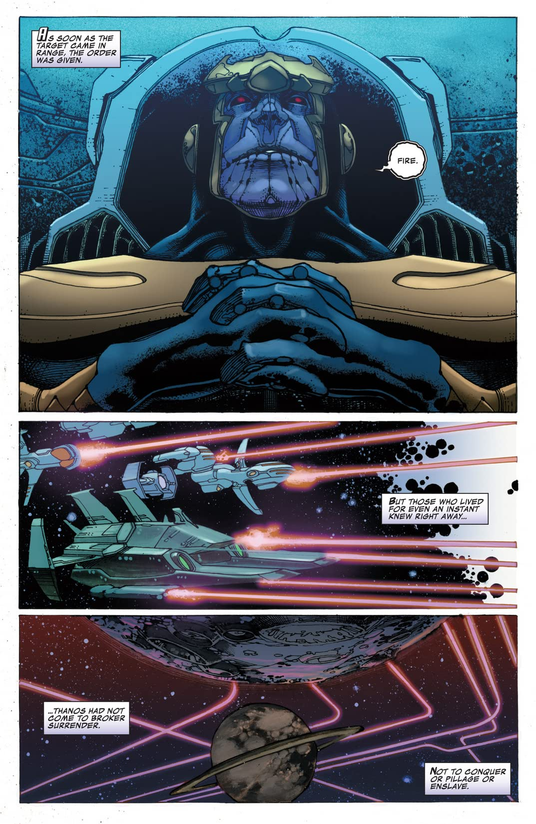 Thanos Rising #5 (of 5)