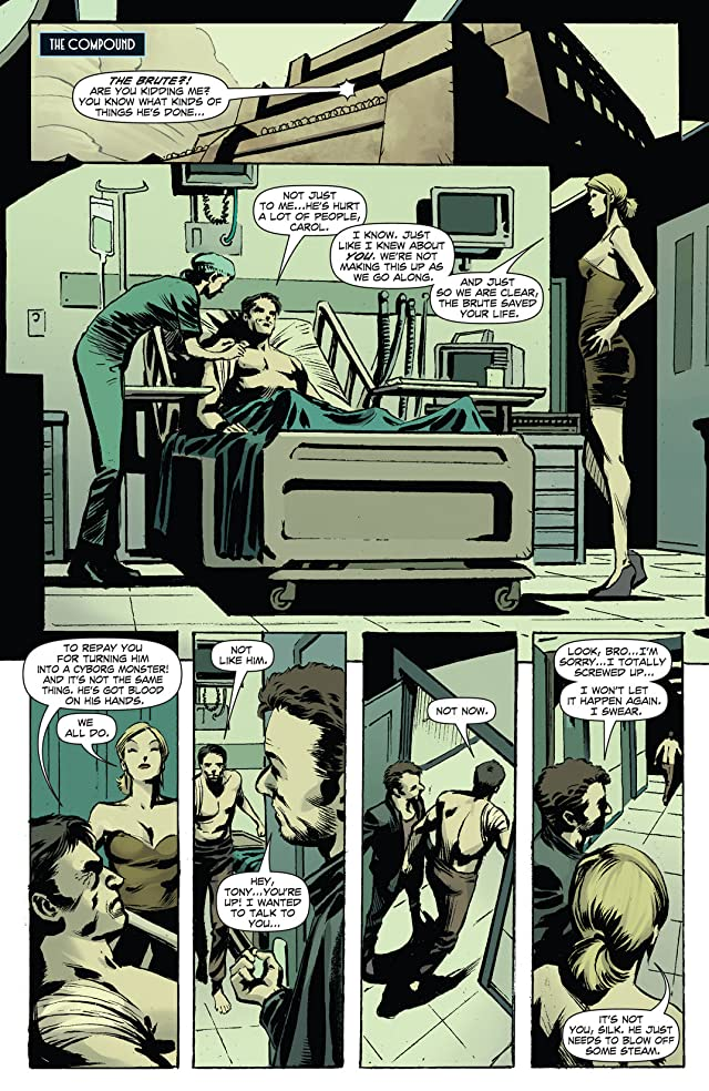 click for super-sized previews of The Black Bat #5