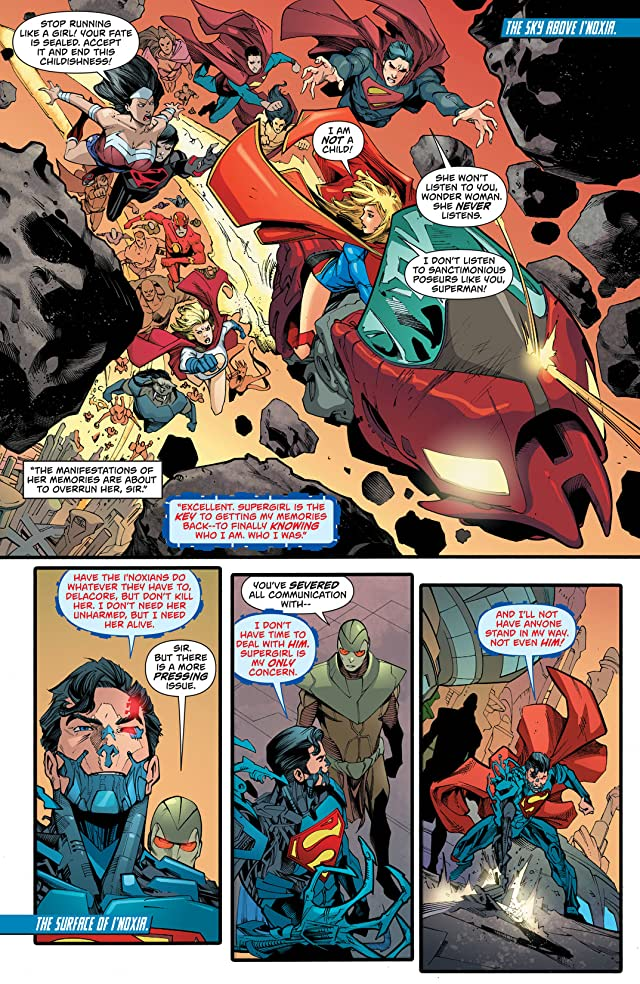 click for super-sized previews of Supergirl (2011-2015) #23