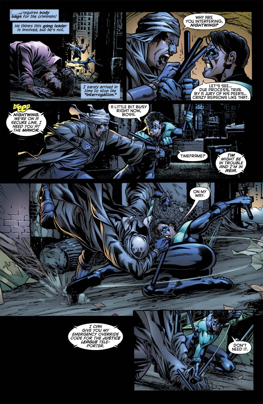 Nightwing (1996-2009) #138