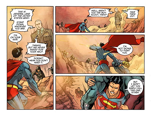 click for super-sized previews of Adventures of Superman (2013-2014) #18