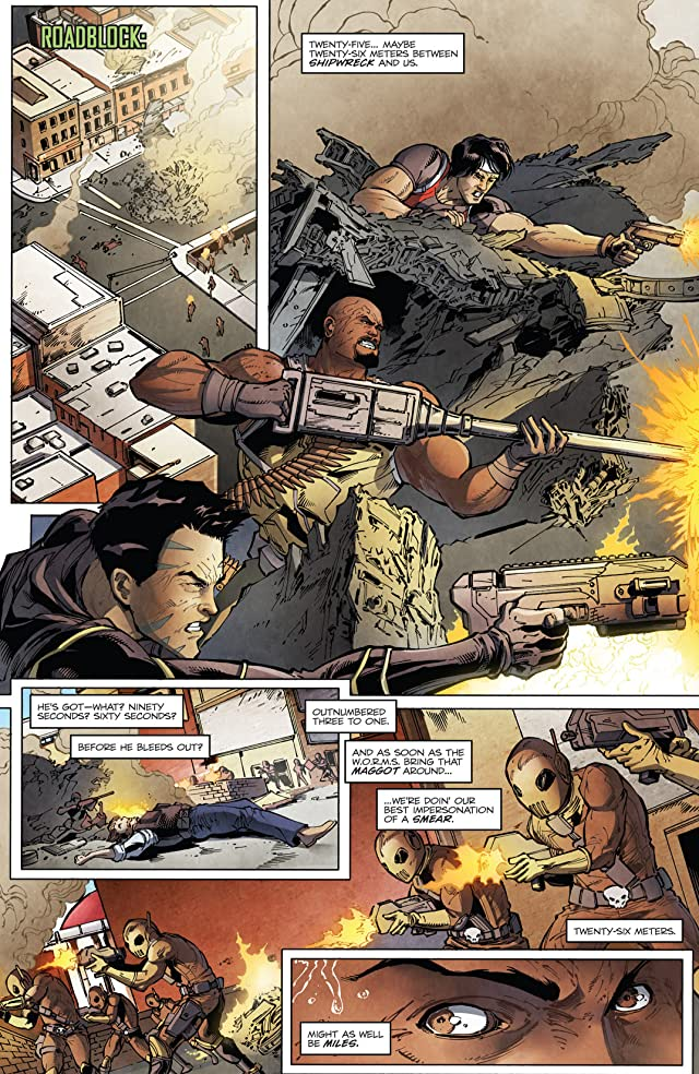 click for super-sized previews of G.I. Joe (2013-2014) Vol. 1: Homefront
