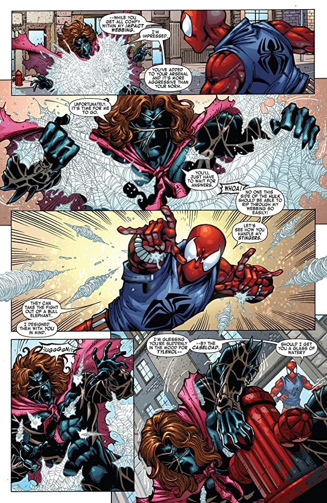 click for super-sized previews of Spider-Man: The Clone Saga #2