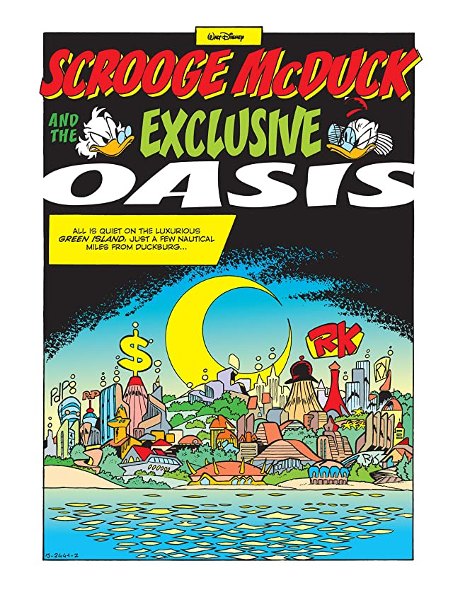 click for super-sized previews of Scrooge McDuck and the Exclusive Oasis