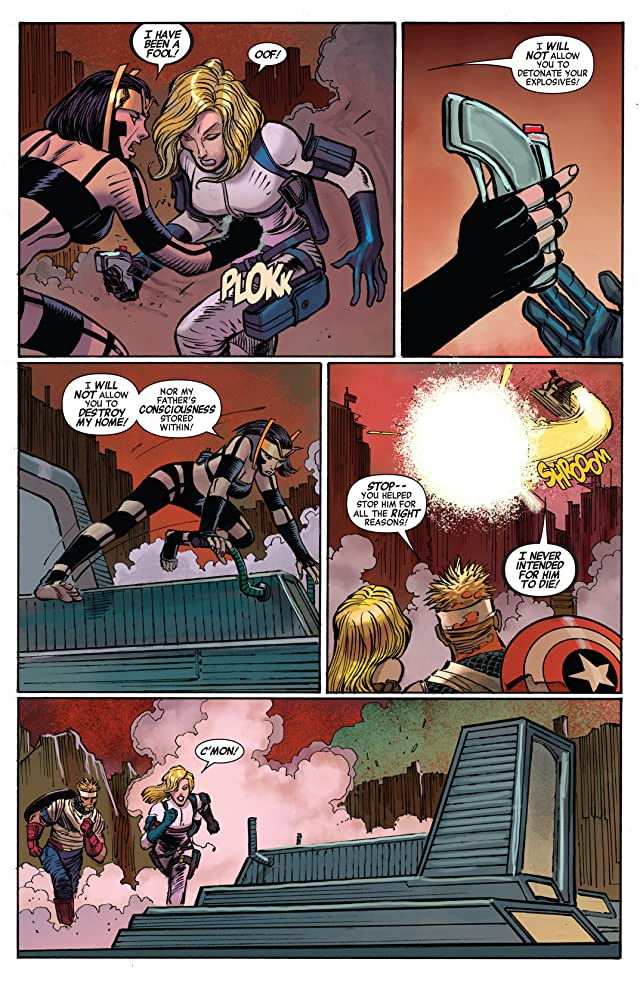 click for super-sized previews of Captain America (2012-) #10