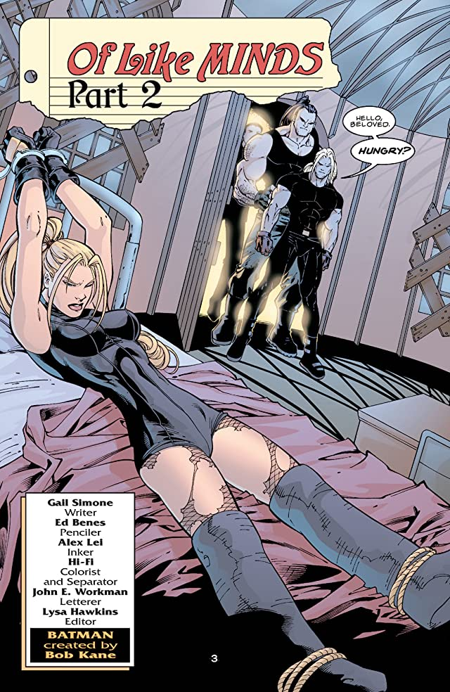 click for super-sized previews of Birds of Prey (1999-2009) #57