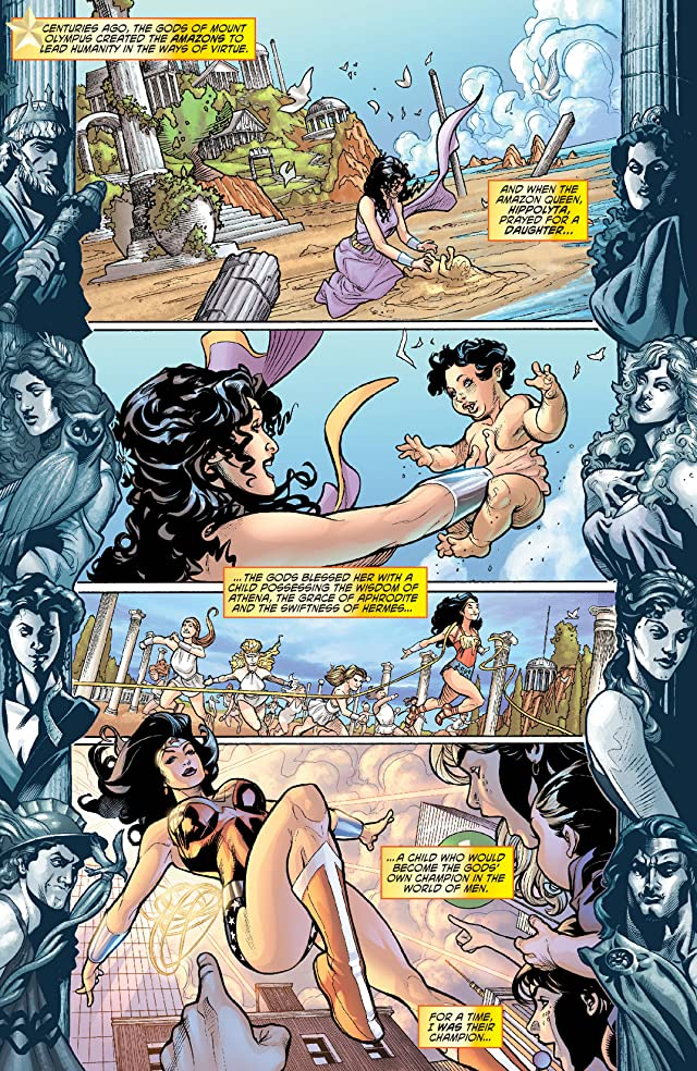 click for super-sized previews of Wonder Woman (2006-2011) #3
