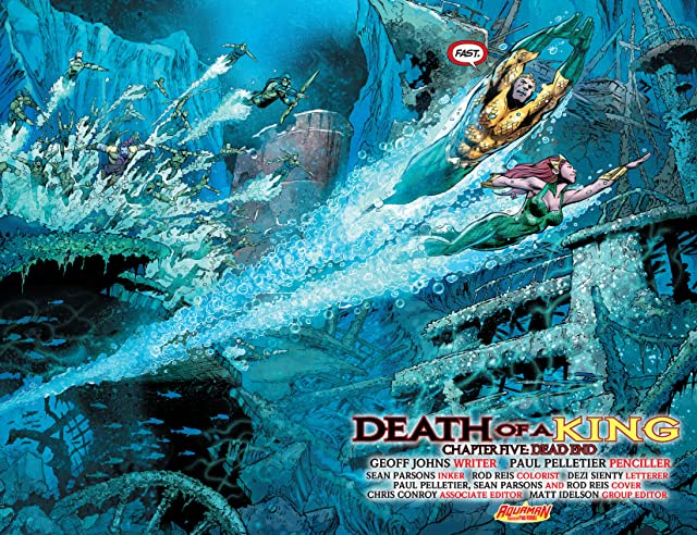 click for super-sized previews of Aquaman (2011-) #23