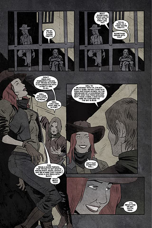 click for super-sized previews of No West to Cross #2